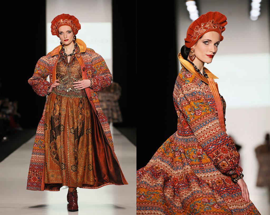 Женский образ в русском стиле
