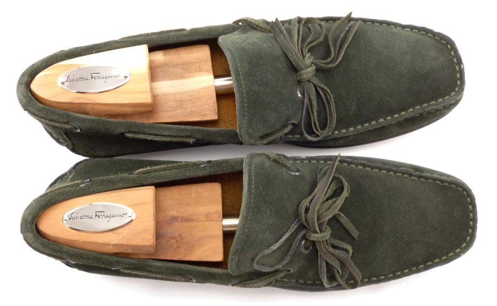 Мужские замшевые ботинки