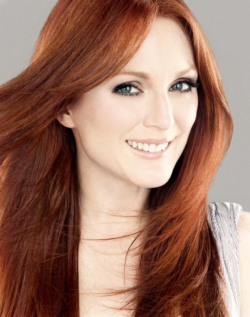 Модный медно-рыжий цвет волос