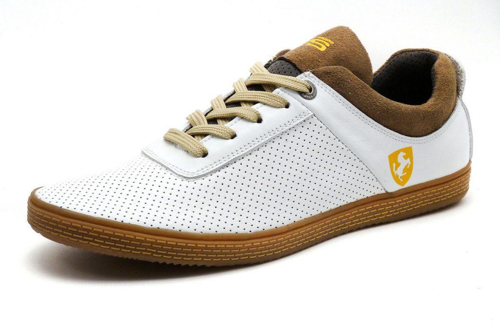 Мужские спортивные белые туфли