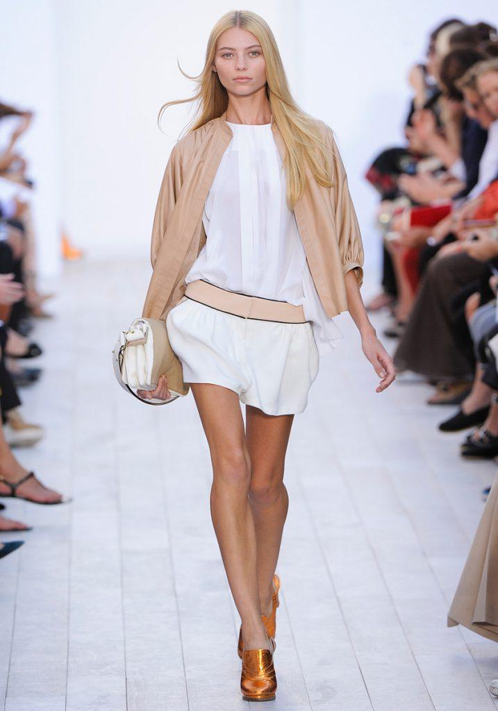 Весенний женский образ с короткой курткой