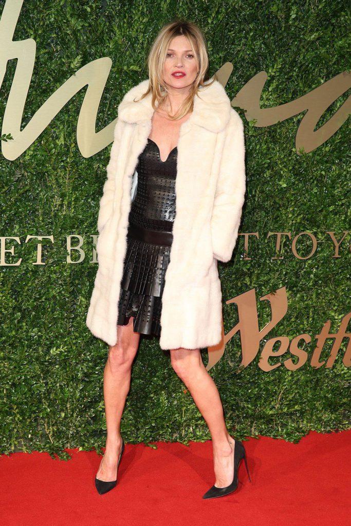 Вечерний образ Кейт Мосс