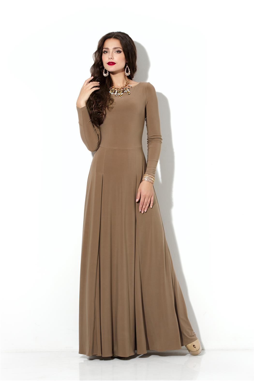 Красивые платья фото с длинными рукавами