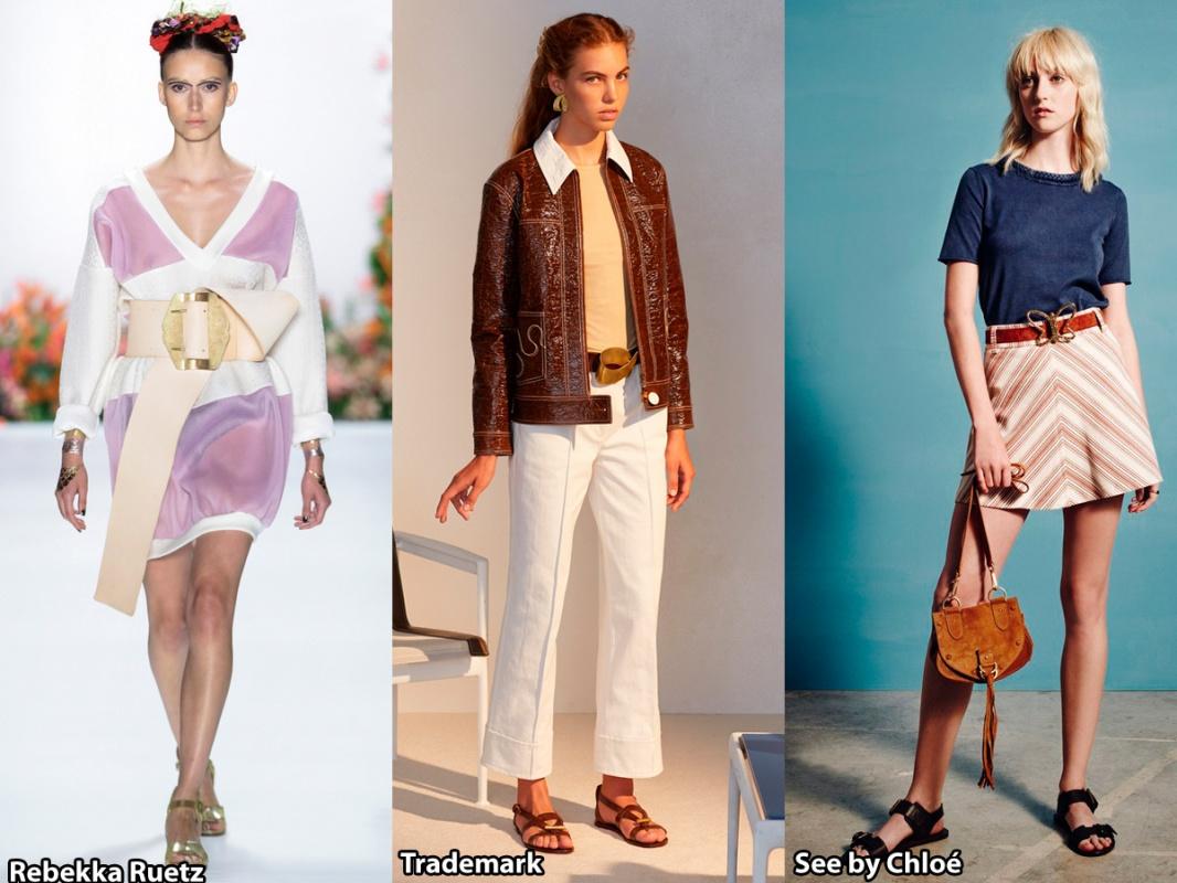 Модные ремни с необычными пряжками