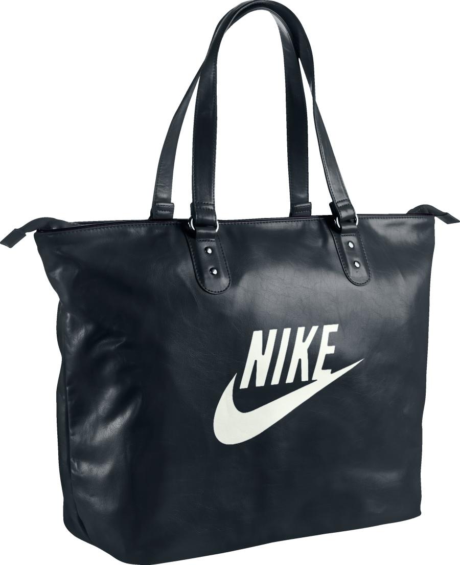 Черная женская сумка для спорта