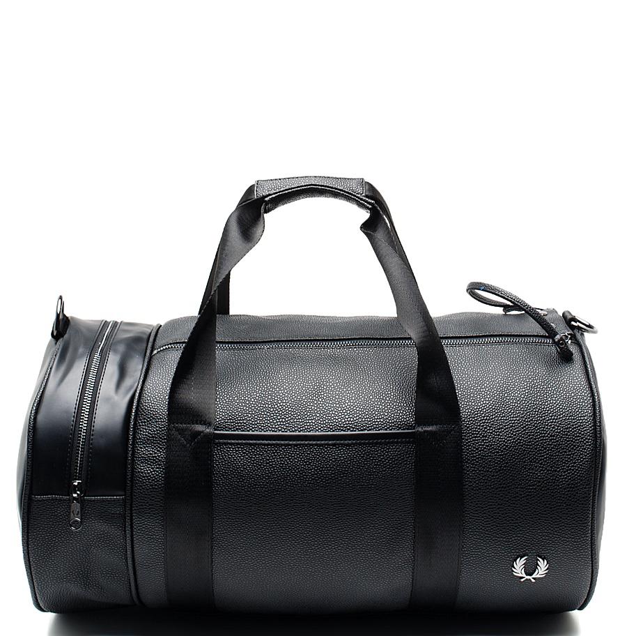 Черная женская спортивная сумка Fred Perry