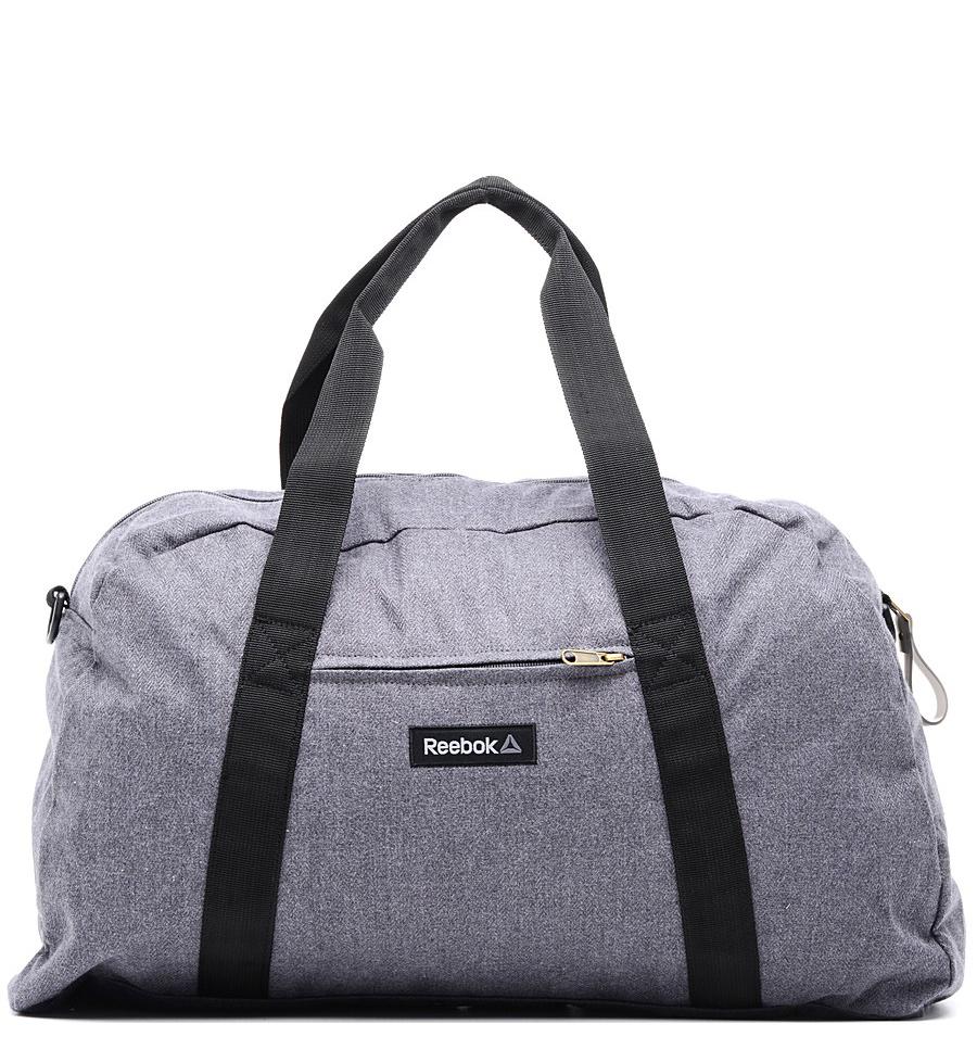 Серая женская спортивная сумка Reebok
