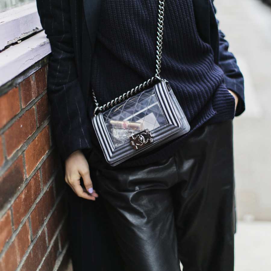 Прозрачная сумка Chanel Boy