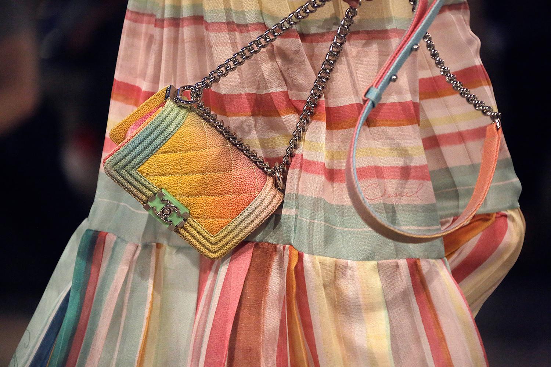 Разноцветная сумка Chanel Boy