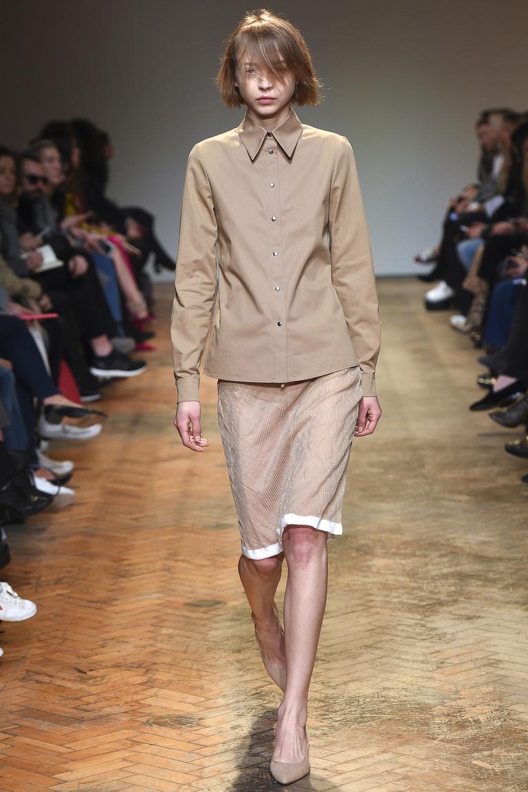 Модная юбка-карандаш в полоску