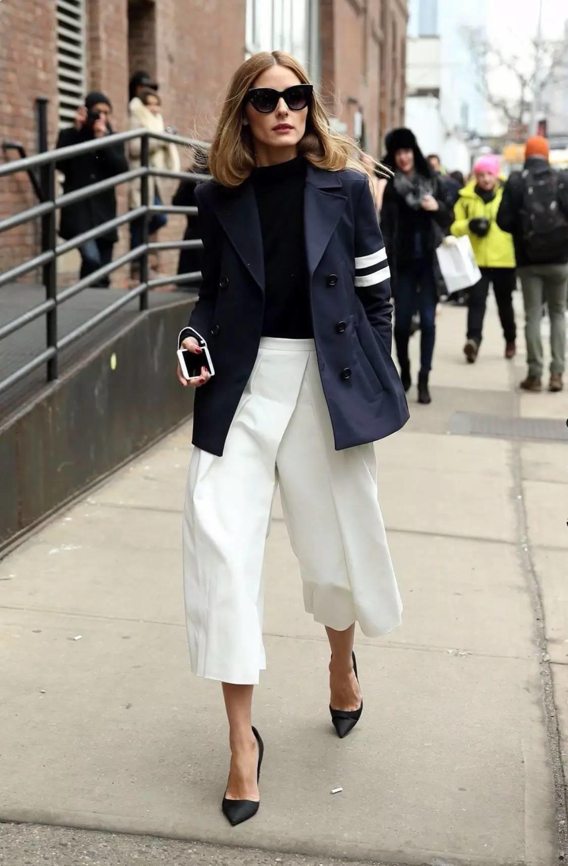 Асимметричные брюки-кюлоты