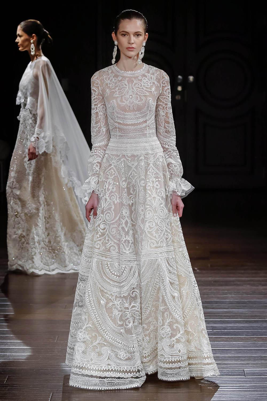 Платье для венчания в стиле бохо