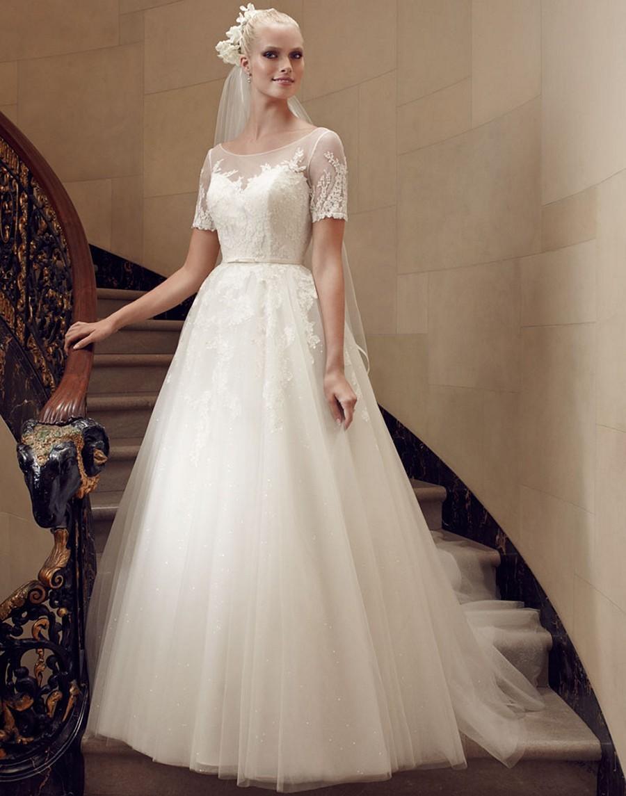 Платье для венчания с фатой