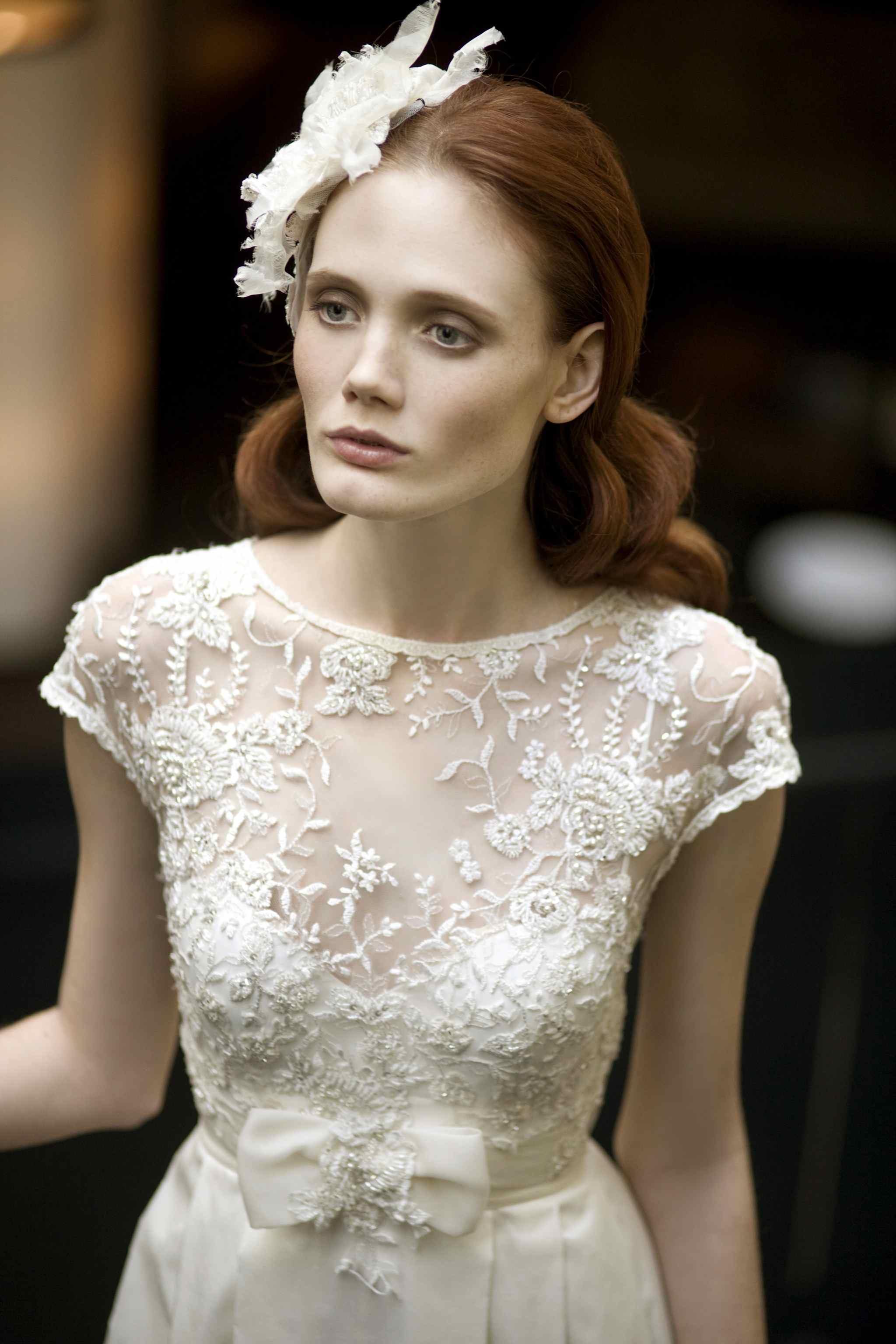 Модное платье для венчания в стиле ретро
