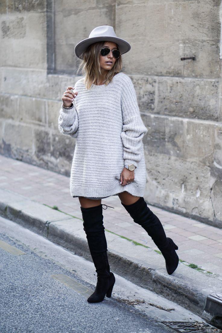 Белый свитер 2018