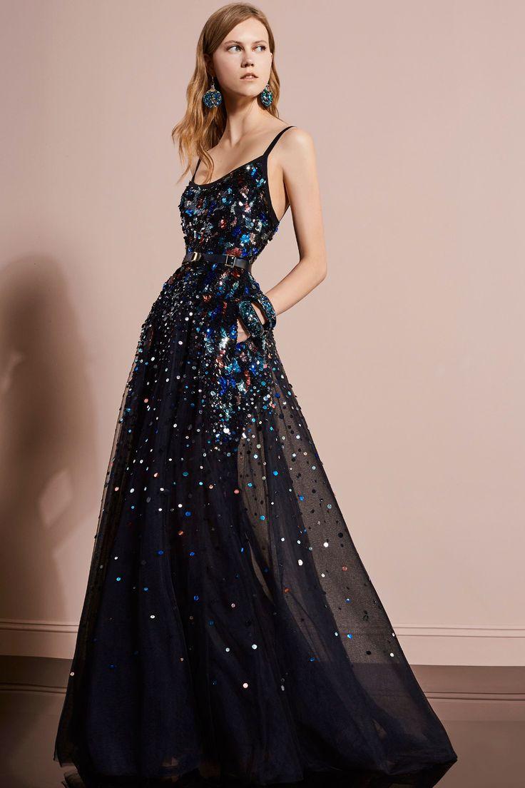 Блестящее платье 2018