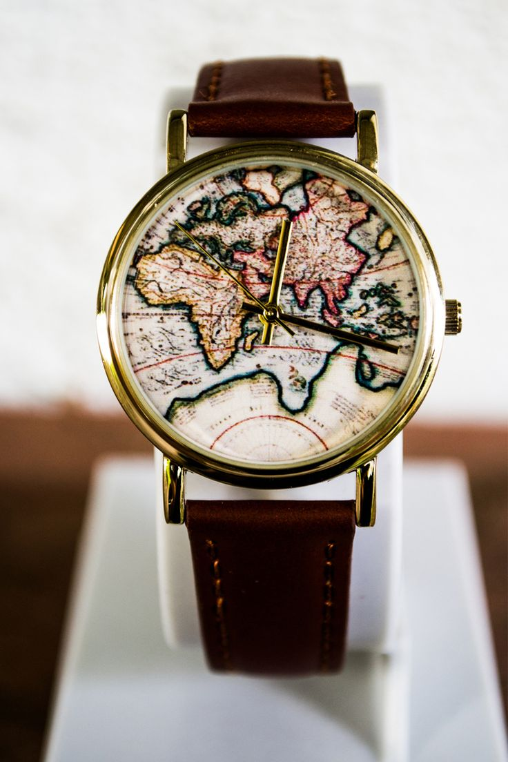 Мужские часы с рисунком на циферблате 2018