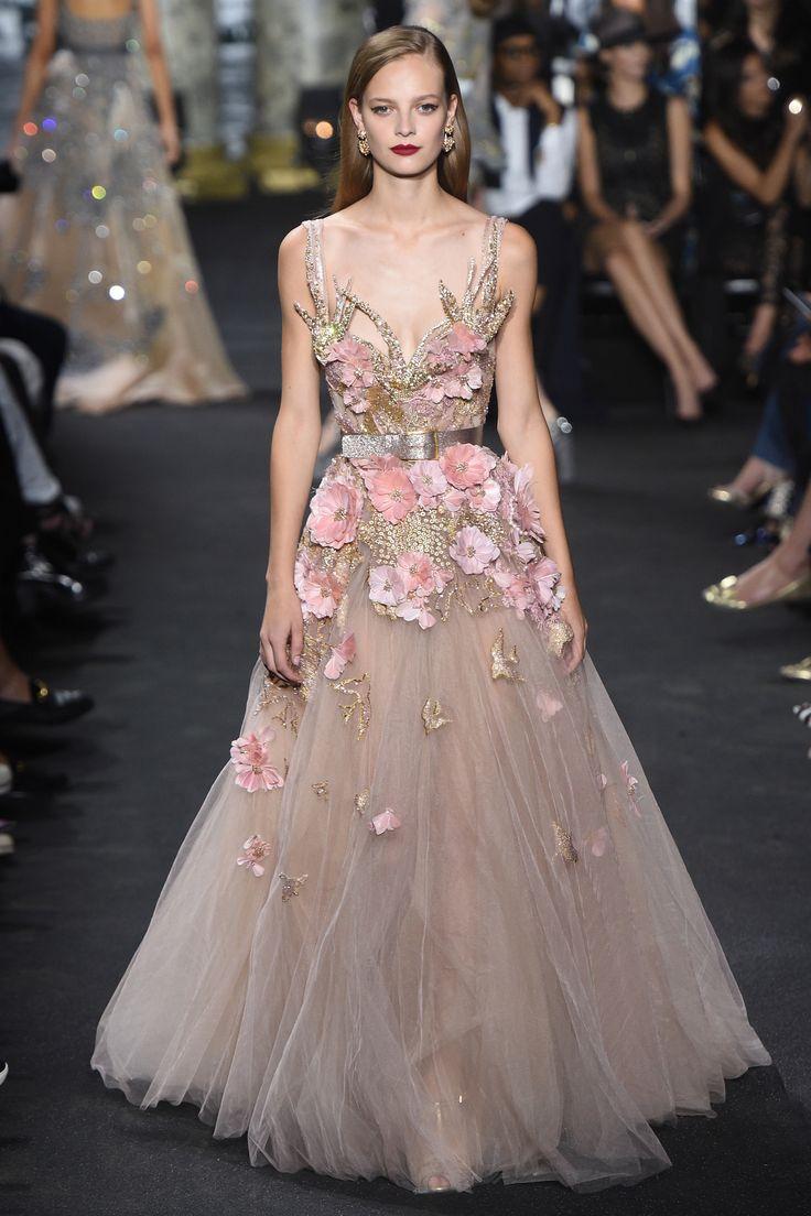Платье 2018 с цветами