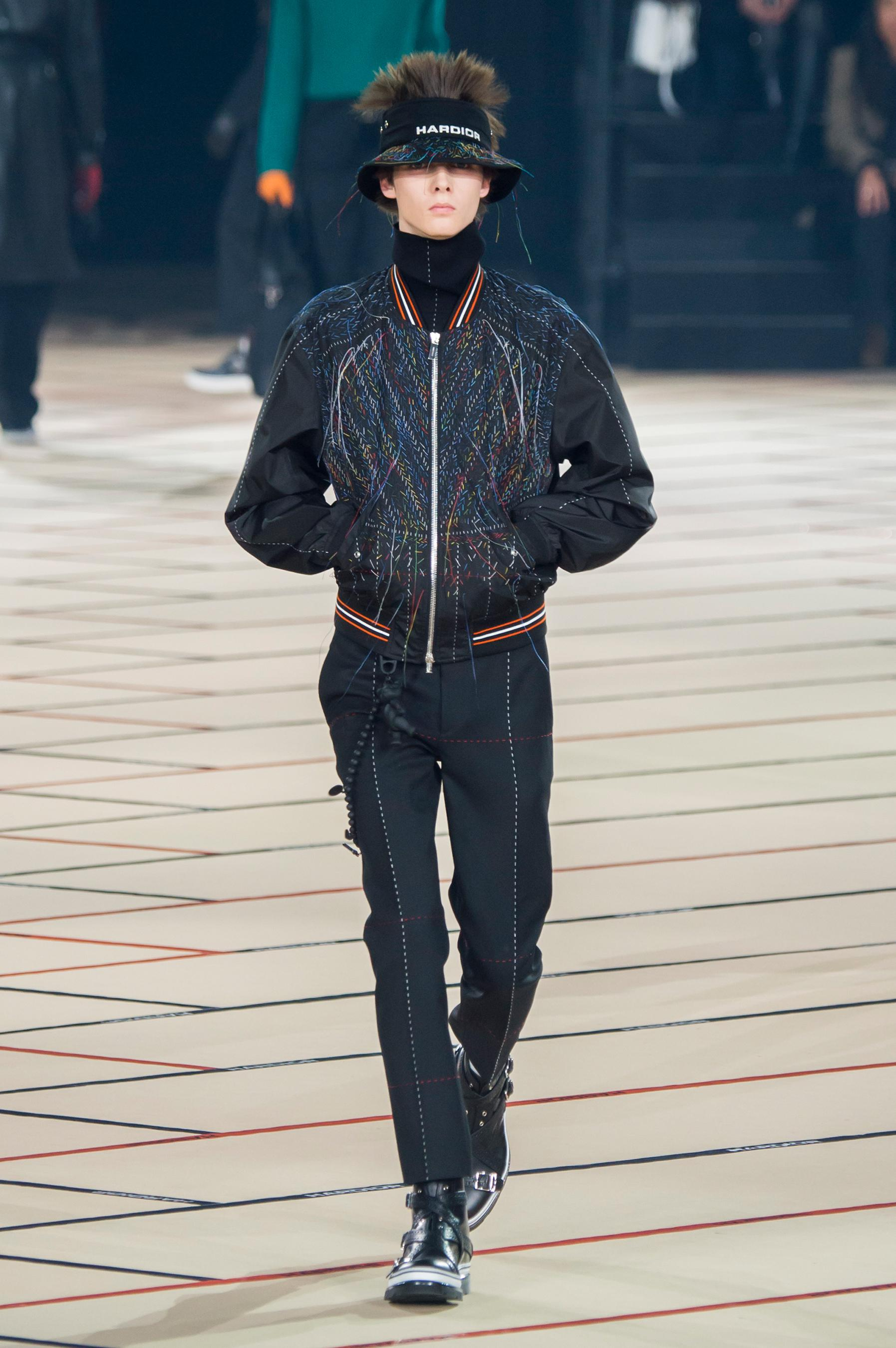 Мужская куртка с декором 2018