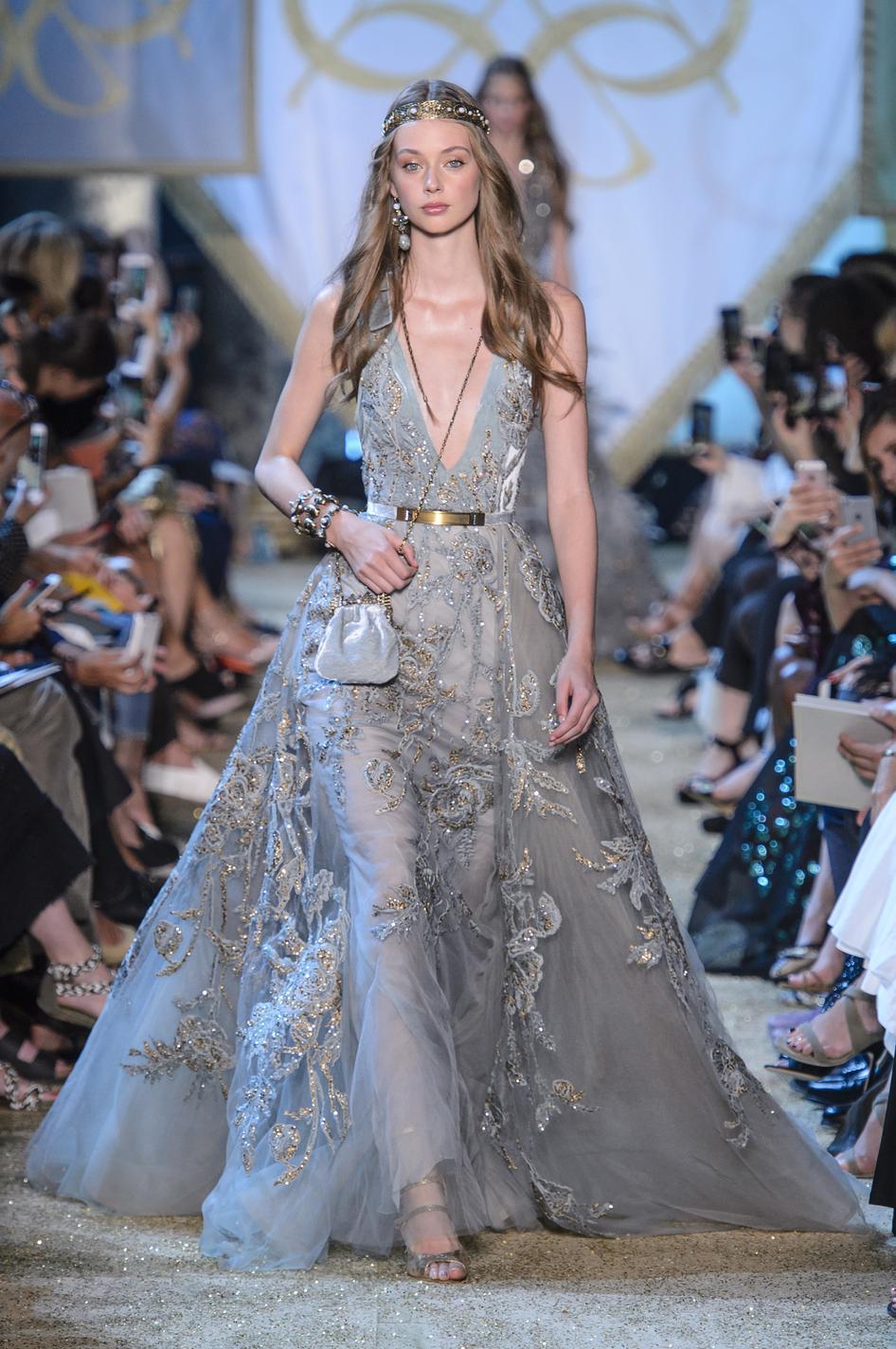 Платье 2018 с декором