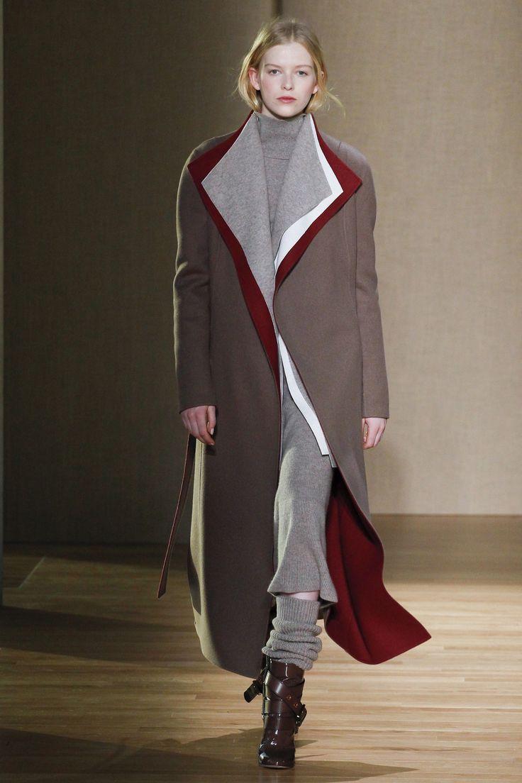 Шерстяное пальто длинное