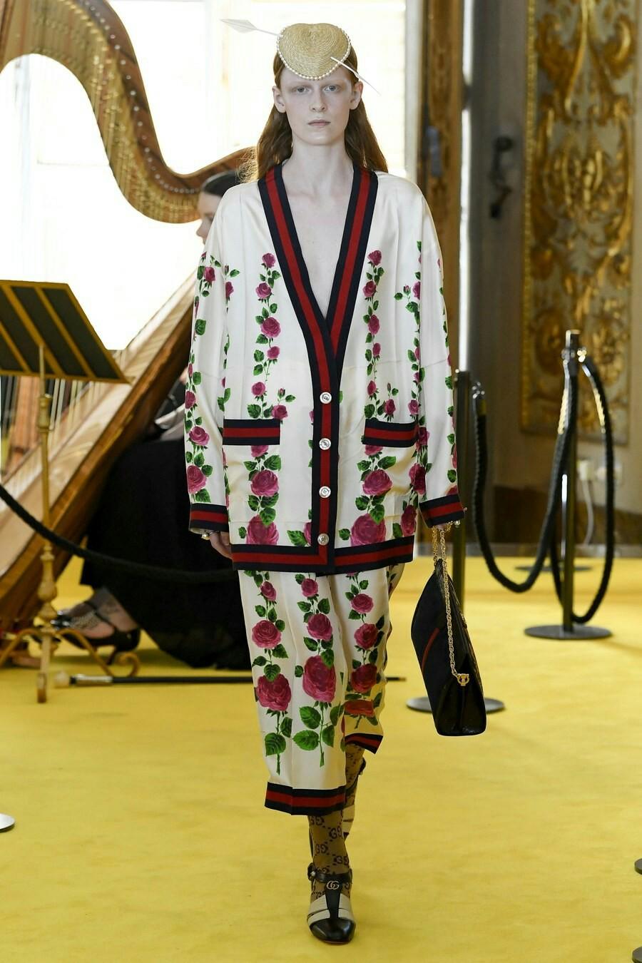 Длинный кардиган Gucci