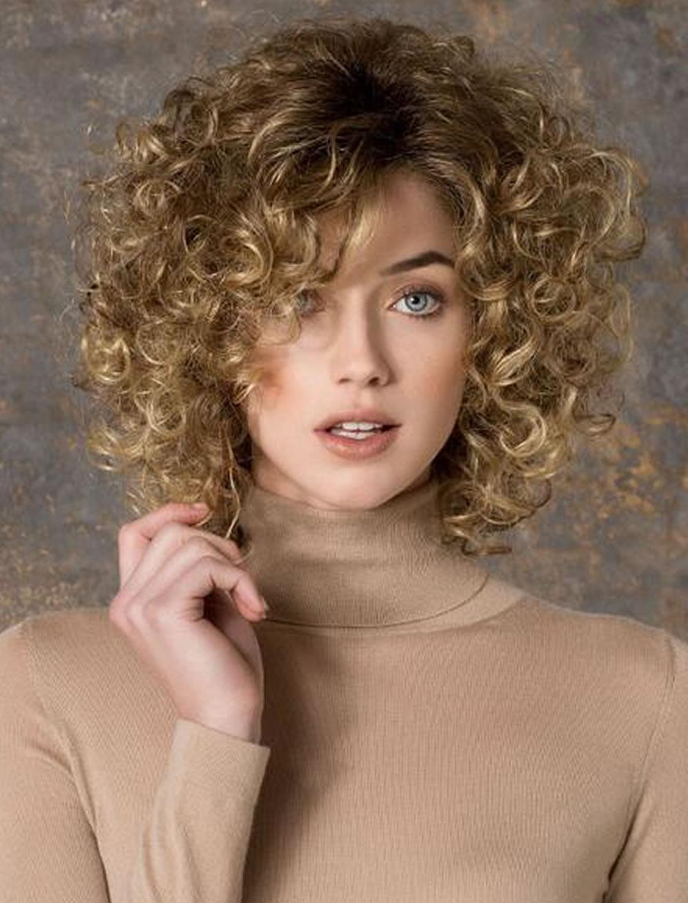 Стрижка на короткие кудрявые волосы 2018