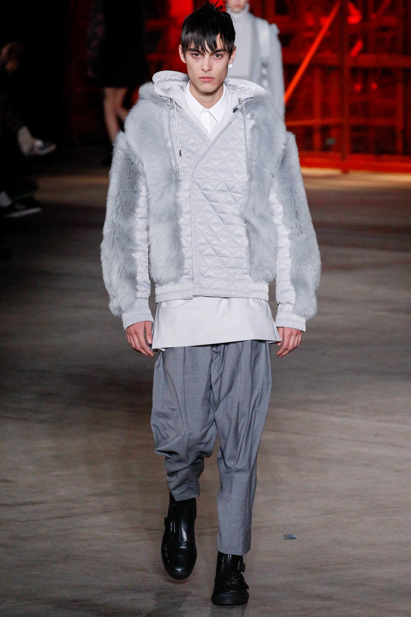 Мужская куртка с мехом 2018