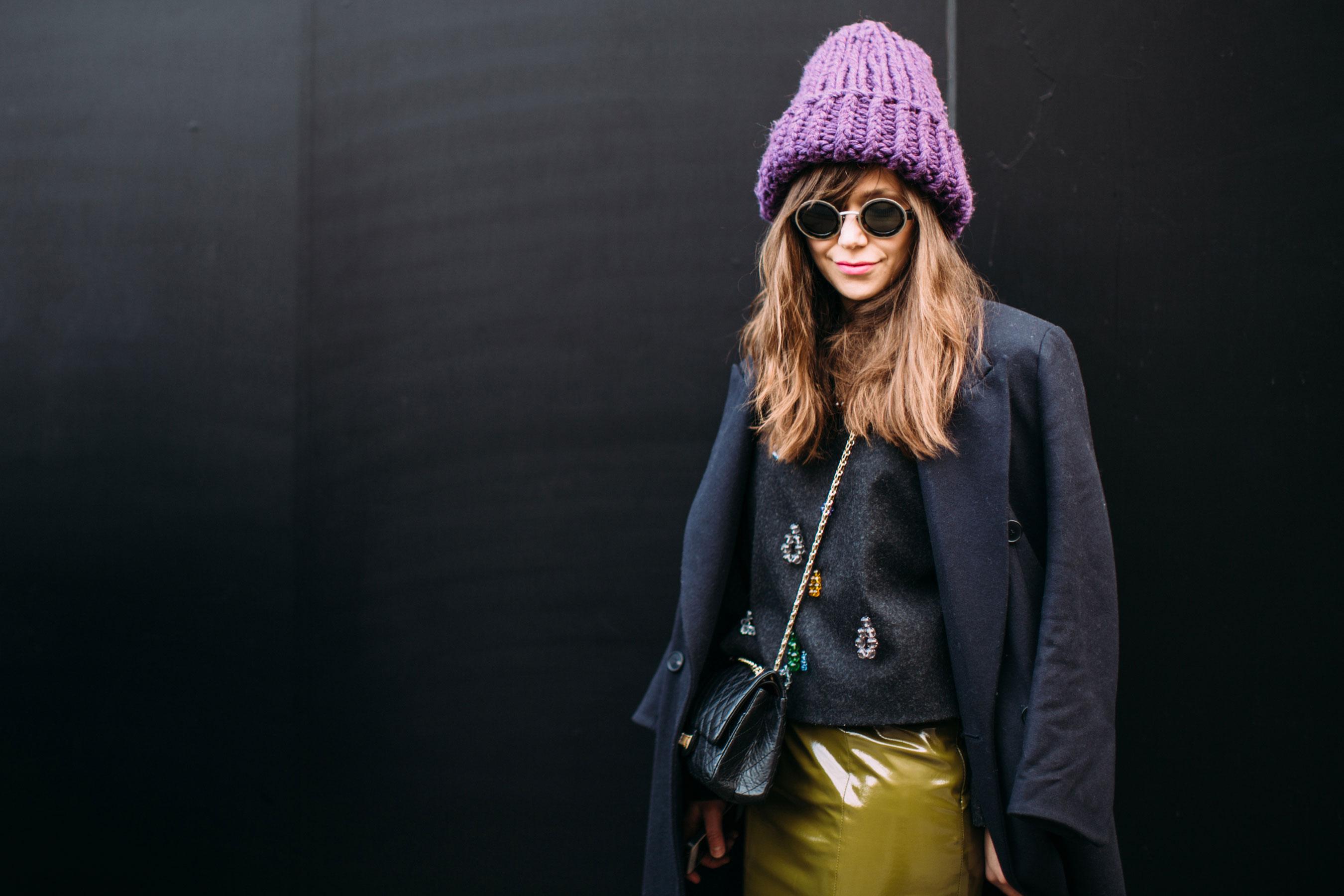 Модная объемная шапка 2018