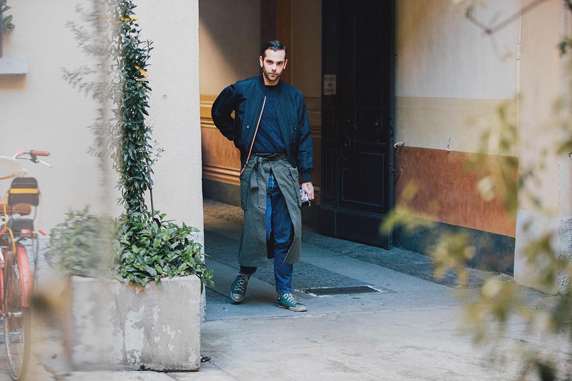 Мужская куртка осенняя 2018