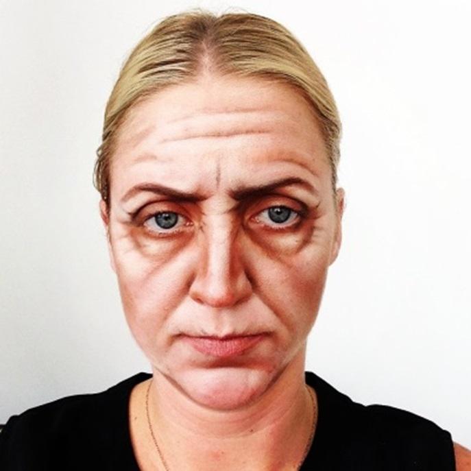 Пластический макияж