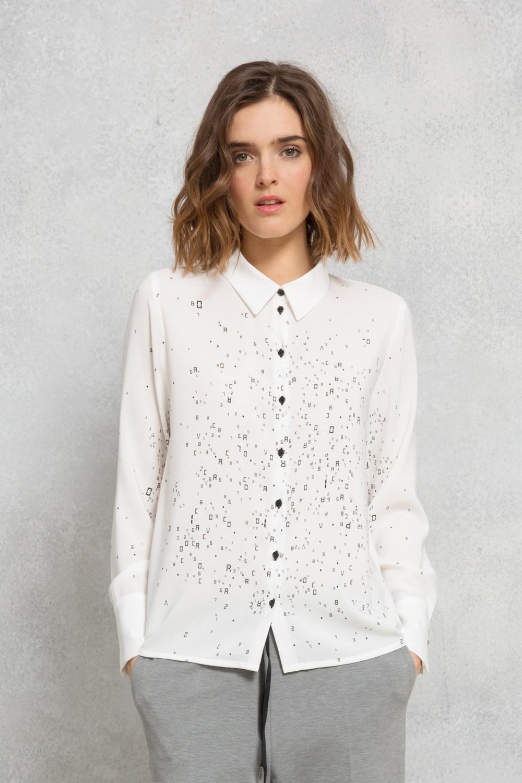 Рубашка с принтом 2018