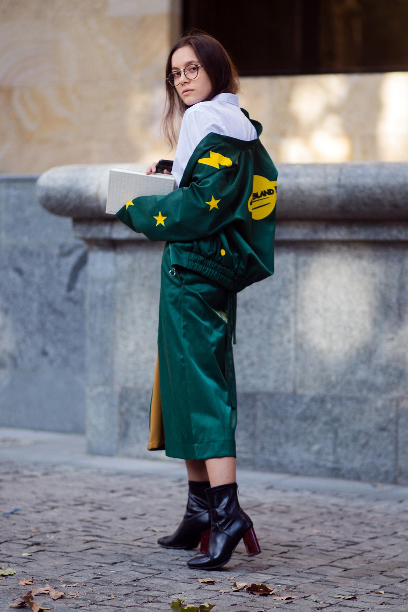 Женская куртка с принтом