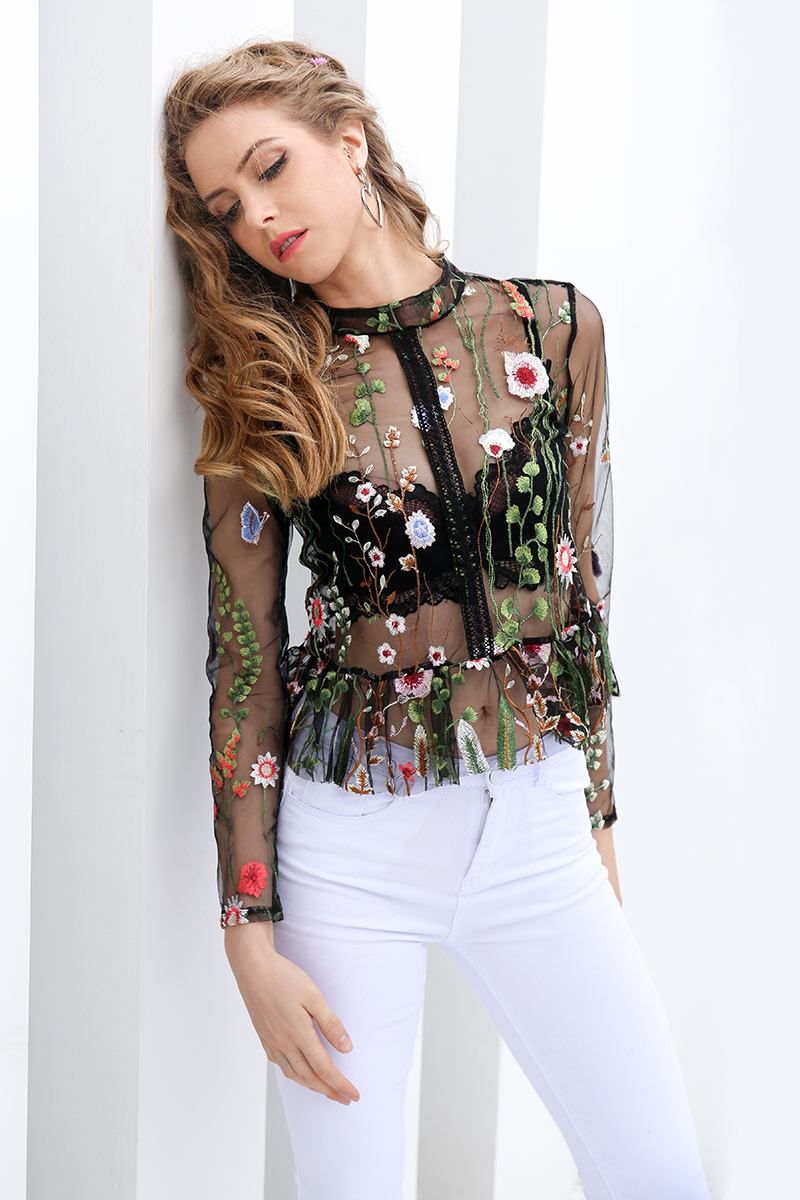 Блузки с цветами своими руками фото 703