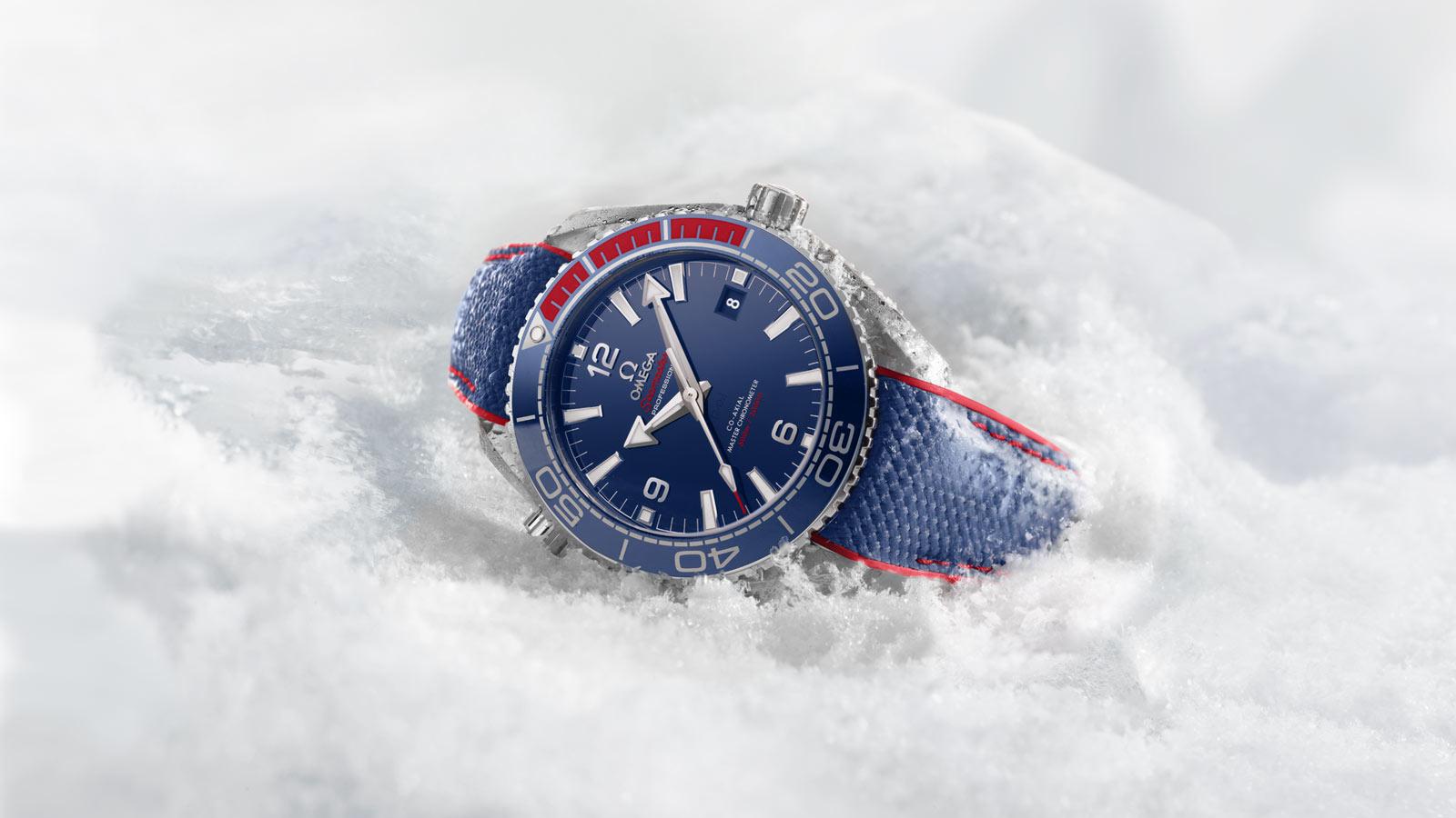 Мужские часы синие 2018