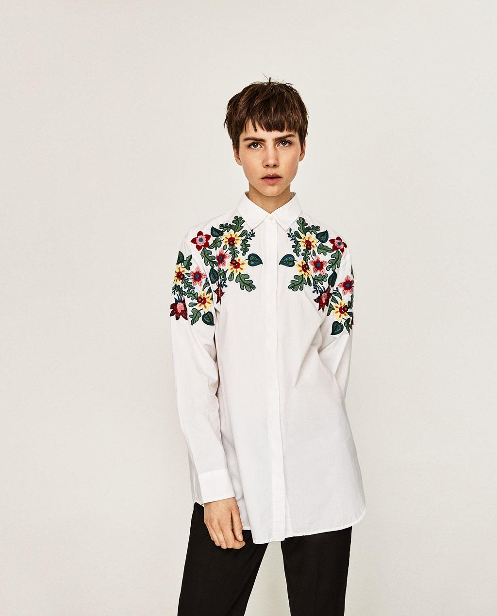 Рубашка с вышивкой 2018