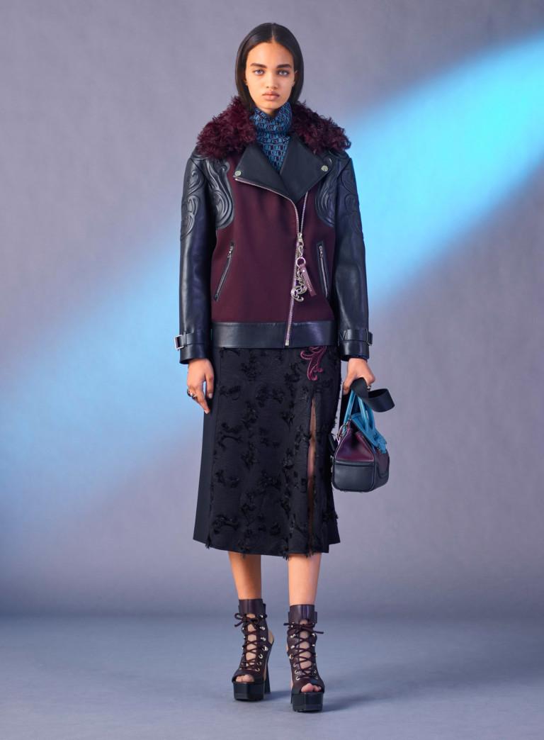 Зимняя кожаная куртка 2018