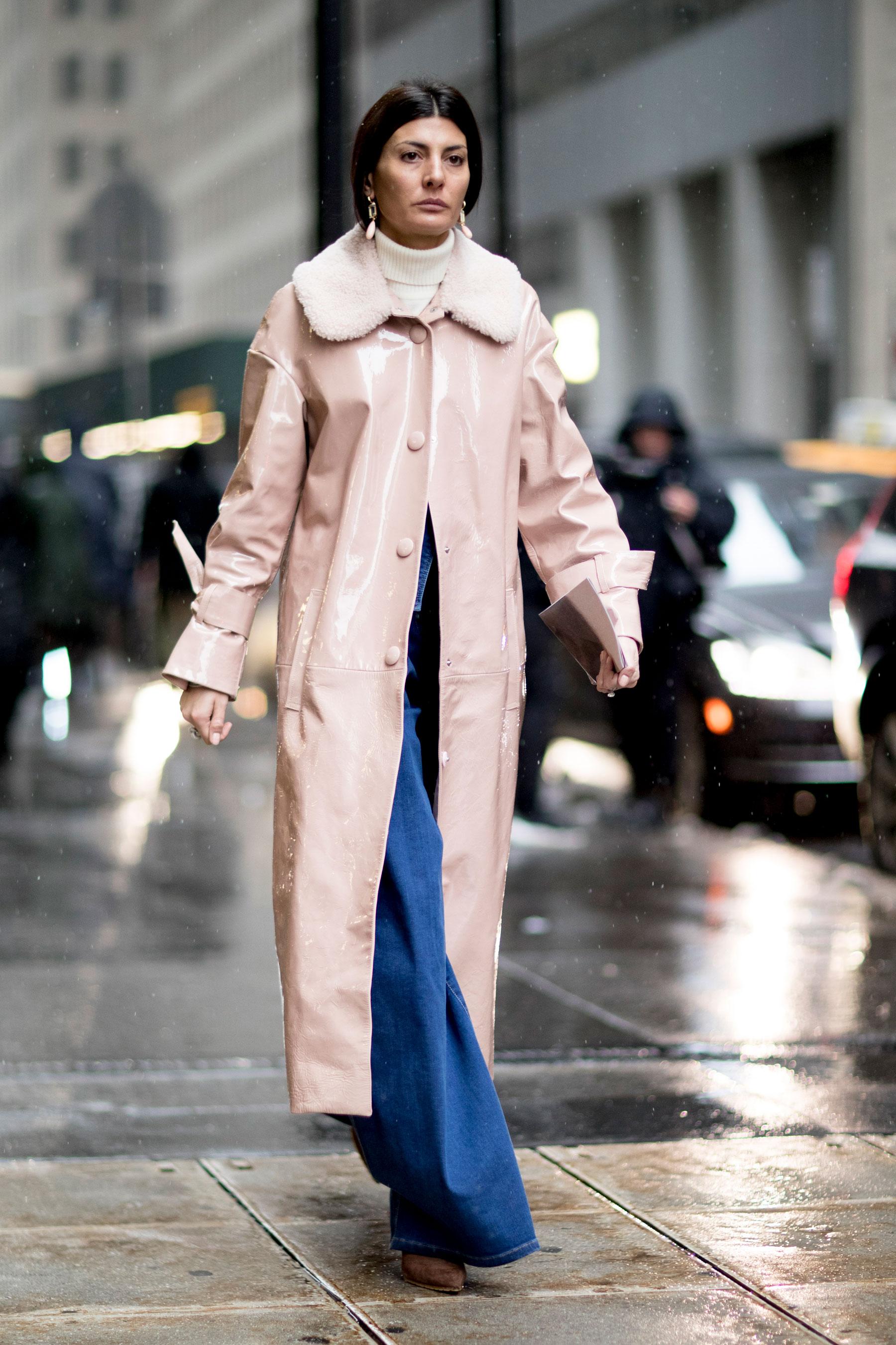 Модное зимнее пальто 2018