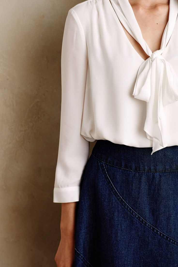 aac7ace1db1 Офисные Блузки Белые Модные
