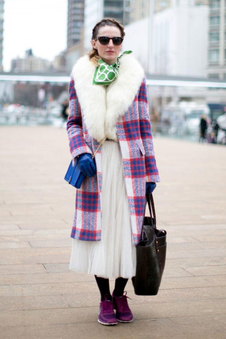 Клетчатое кашемировое пальто
