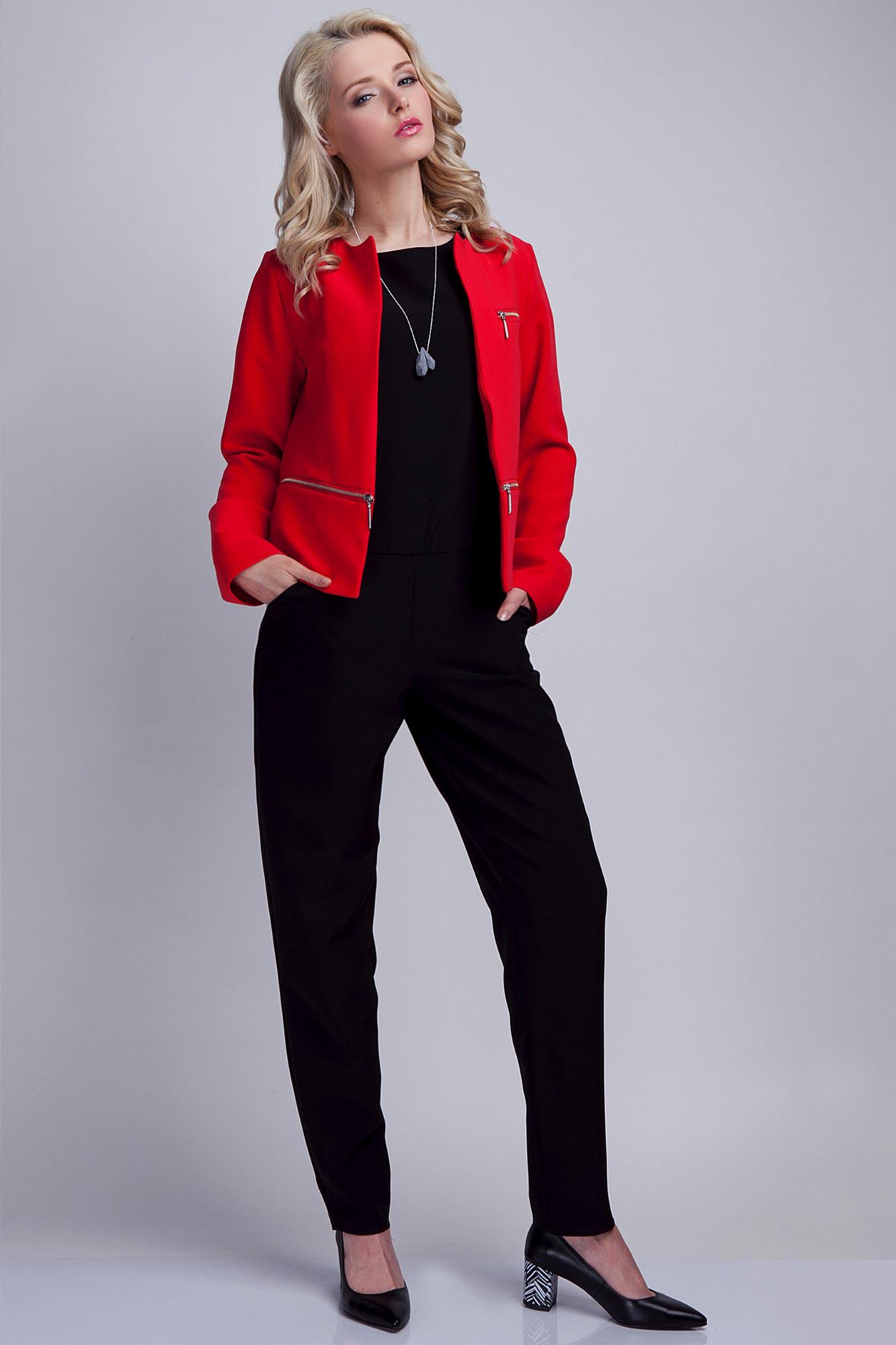 Короткий красный пиджак