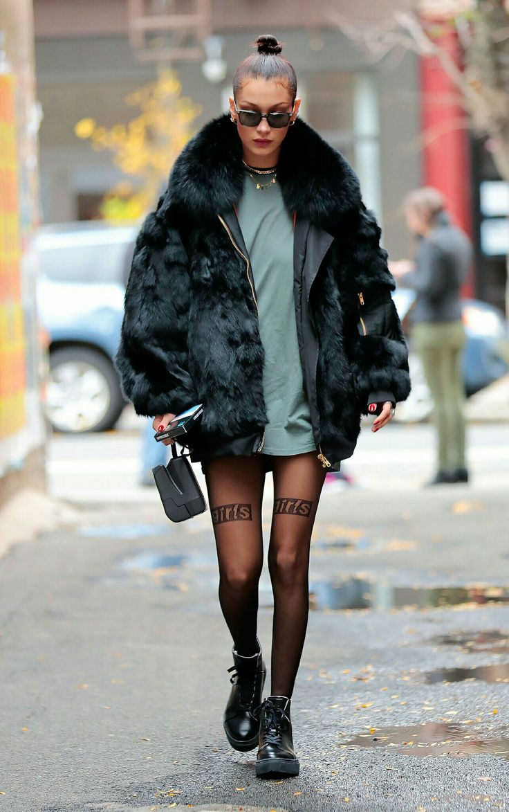 Модная куртка с мехом