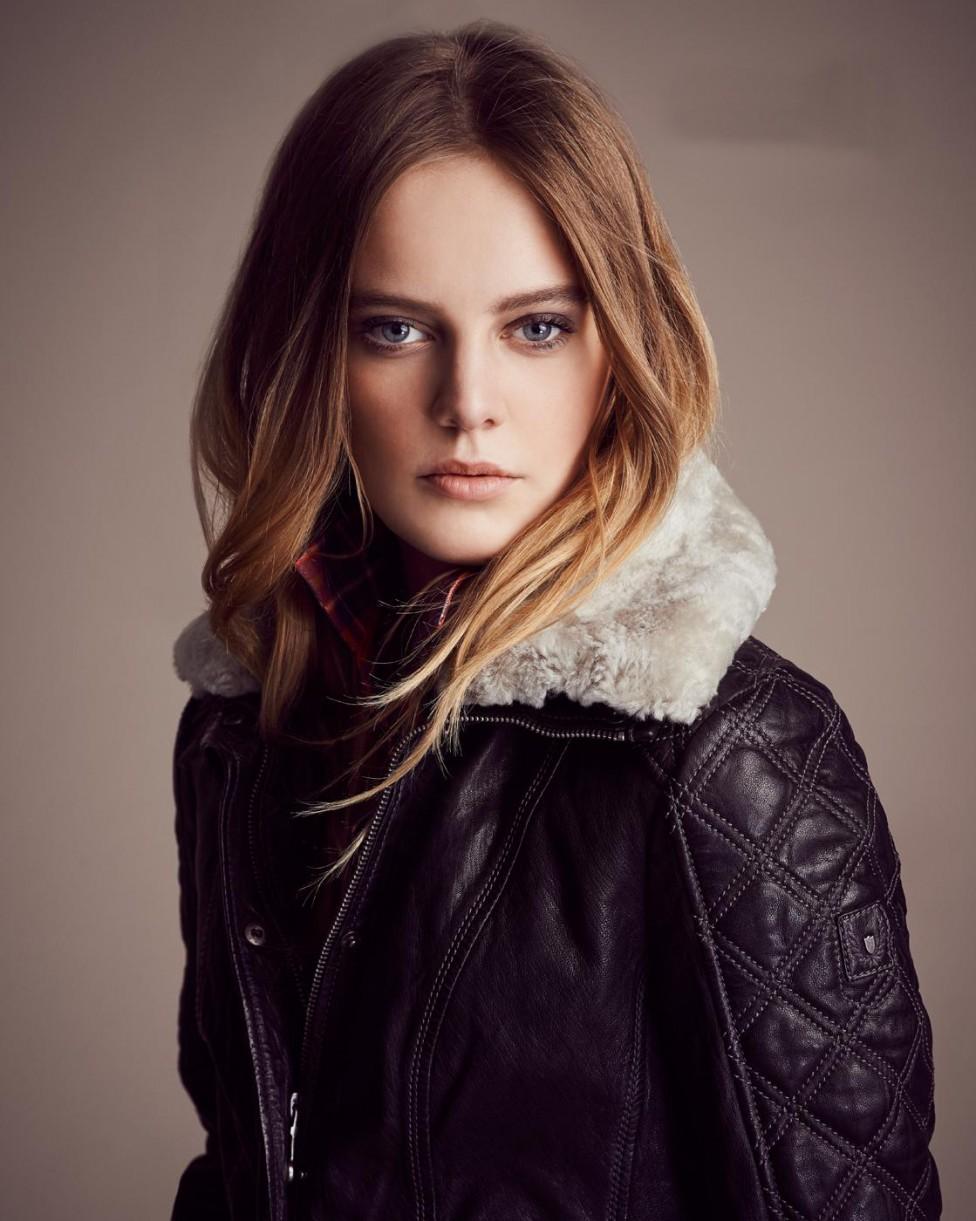 Куртка с мехом из овчины