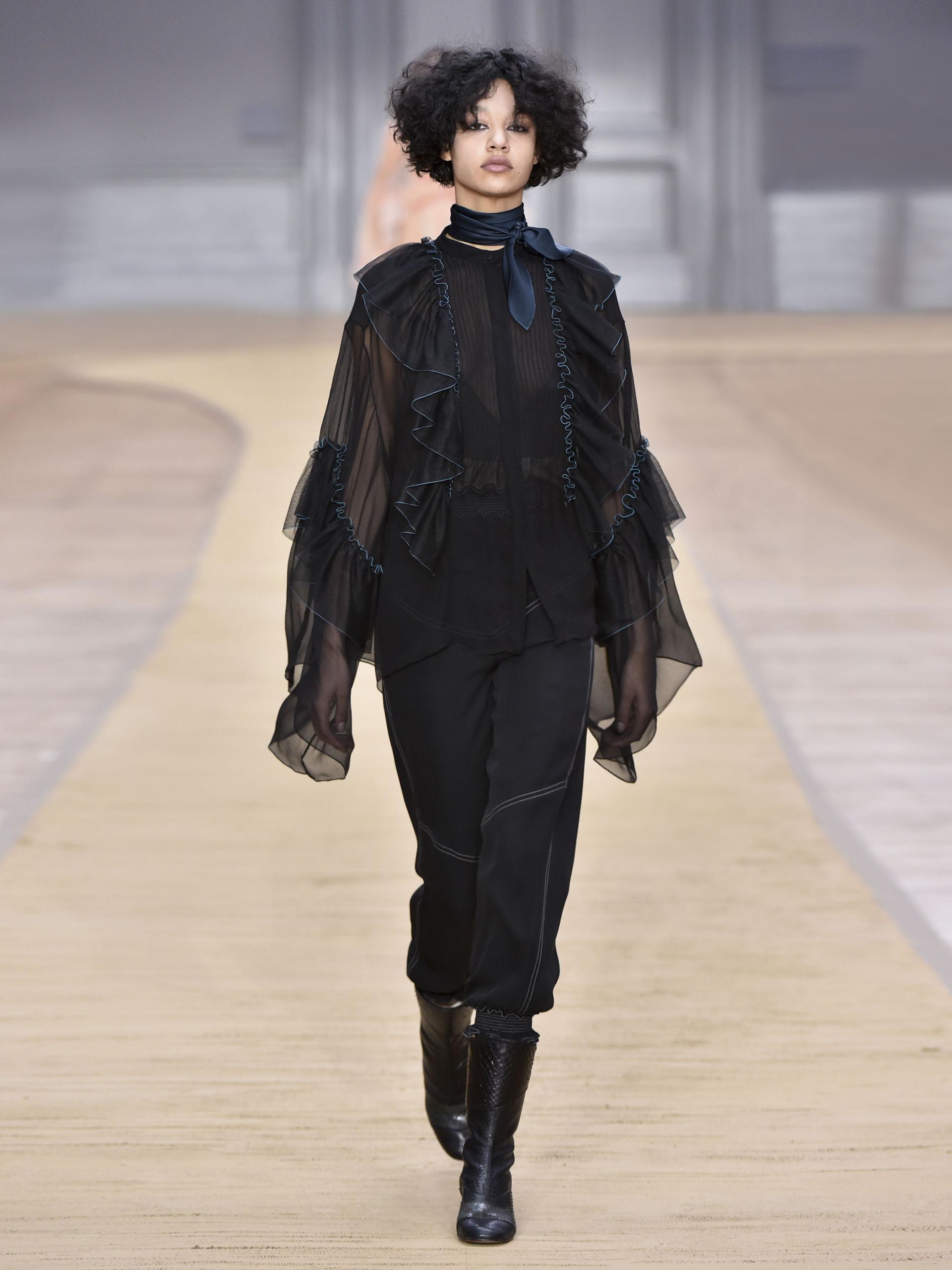 Черная рубашка женская оверсайз