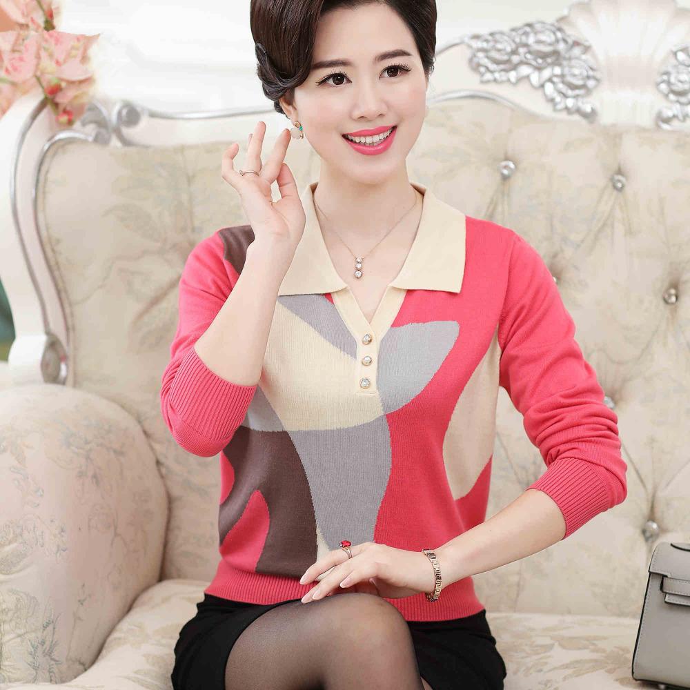 Трикотажная блузка поло