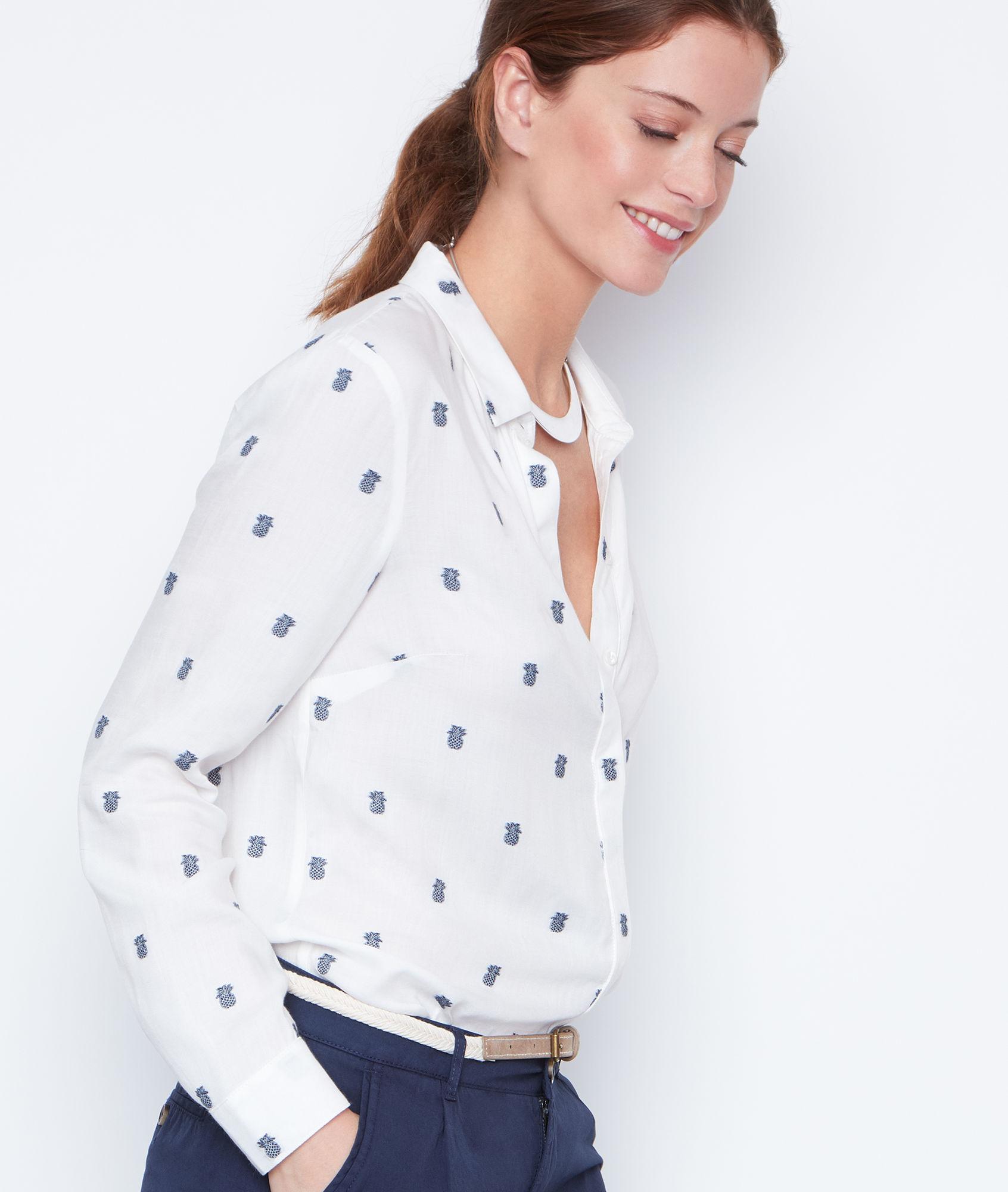 Рубашка боди с принтом