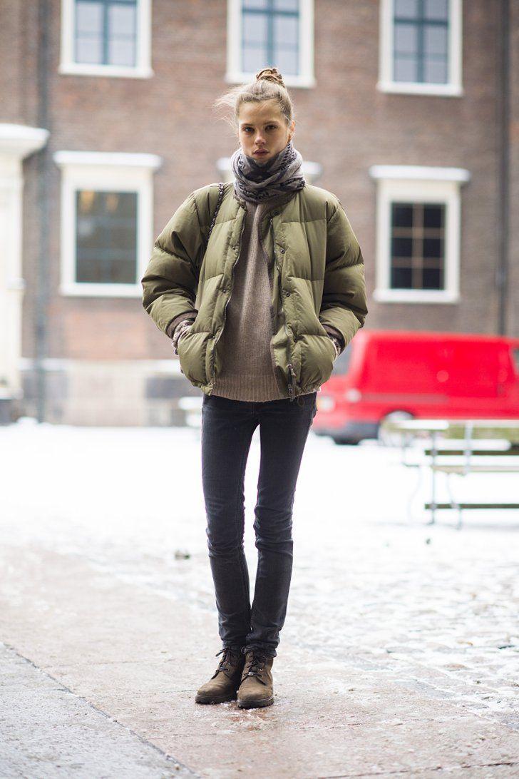 Демисезонная пуховая куртка