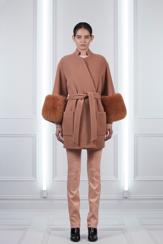 Пальто оверсайз розовое