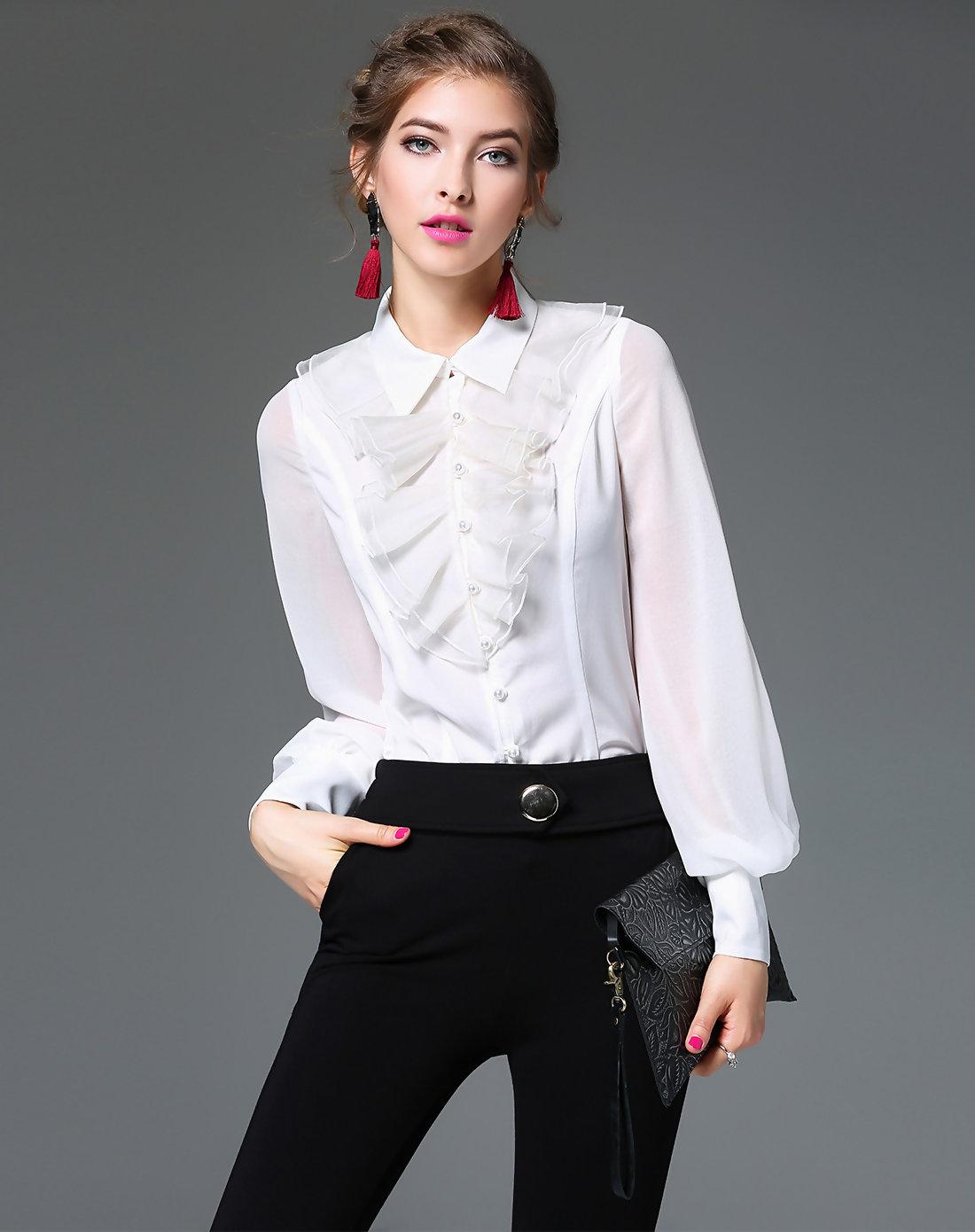 Как быстро сшить блузку без выкройки 21