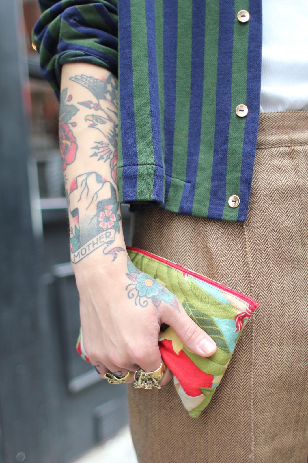 Женский текстильный кошелек
